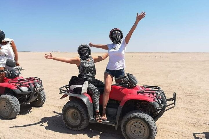 25 km by quad bike to Sahara Park.